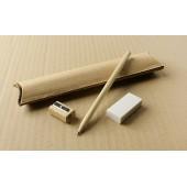 Písacia sada - ceruzka, strúhadlo, guma