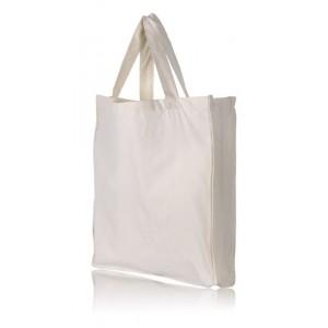 Bavlnená taška s dnom a bokami