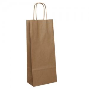 Papierová taška na víno 16 x 8 x 39 cm
