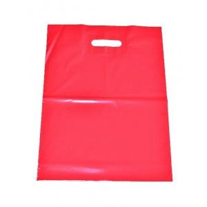 Igelitová taška červená 350 x 460 mm