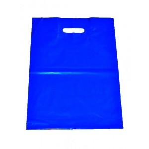 Igelitová taška modrá 350 x 460 mm