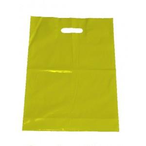 Igelitová taška žltá 360 x 460 mm