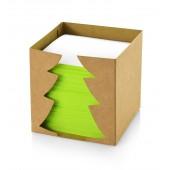 Bločky vo vianočnej krabičke