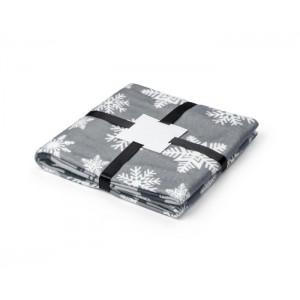 Vianočná deka STELO sivá
