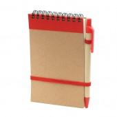 Zápisník s perom Milo - 70 strán