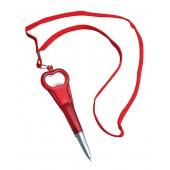 Guličkové pero s otváračom fliaš