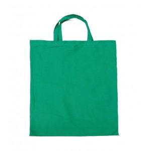 Bavlnená taška s krátkymi rúčkami