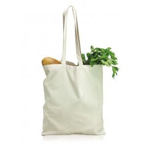 Bavlnená taška s dlhými rúčkami