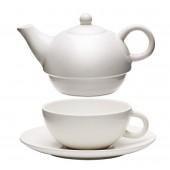 Čajník so šálkou
