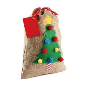 Eko vrecúško - Vianočný stromček