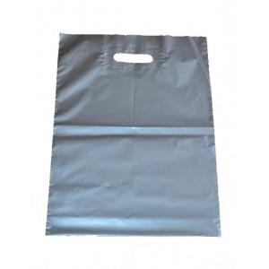 Igelitová taška strieborná 350 x 460 mm