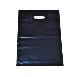 Igelitová taška čierna 350 x 460 mm